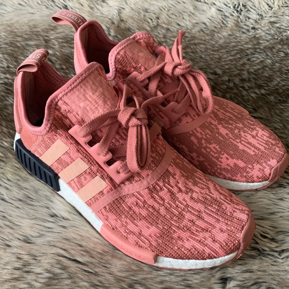 37a513de173 Adidas NMD R1 Women s Shoes Raw Pink
